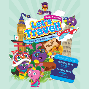 Let's Travel Holiday Programme @ Hi-5 House of Learning, Damansara Heights