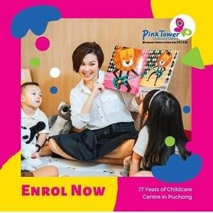 Special Giveaway for First 20 students enrol @ Pink Tower Childcare Centre, Bandar Puteri Puchong