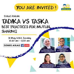 PUBLIC FORUM: Tadika VS Taska - Best Practices For Mutual Sharing