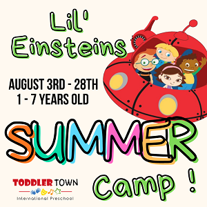 Summer Camp @ Toddler Town International Preschool, Mont Kiara