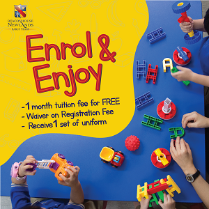 Enrol & Enjoy Promotion @ Beaconhouse Newlands Early Years