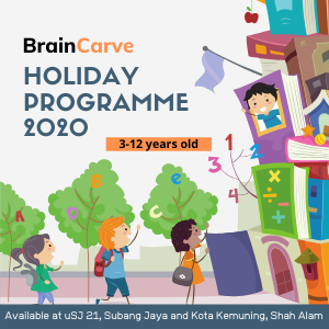 BrainCarve Holiday Programme 2020
