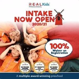 R.E.A.L Kids 2020/21 Intake is Now OPEN!