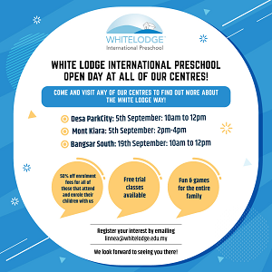 Open Day @ White Lodge International Preschool and Nursery