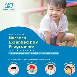 Introducing Nursery Extended Day Programme @ Peter & Jane kindergarten