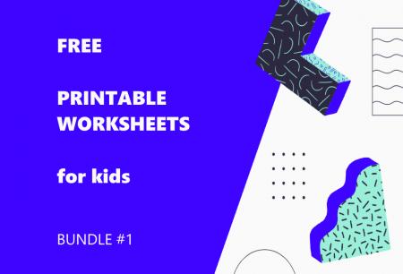 Printable Worksheets Bundle #1