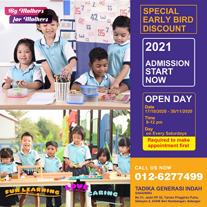 Open Day @ Nanny's Preschool & Kindie, Seri Kembangan
