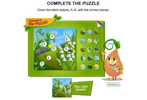 LOGIC & PUZZLES - Complete the puzzle