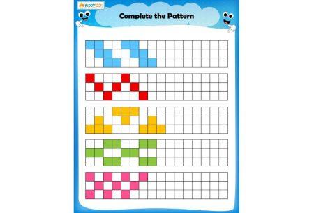 LOGIC & PUZZLES - Square pattern