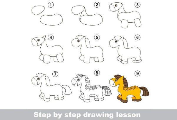 ART & CRAFT - Learn to draw pony