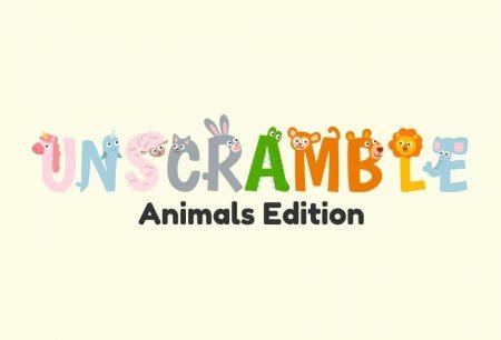 Unscramble - Animals Edition!