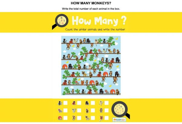 MATHS - How many monkeys