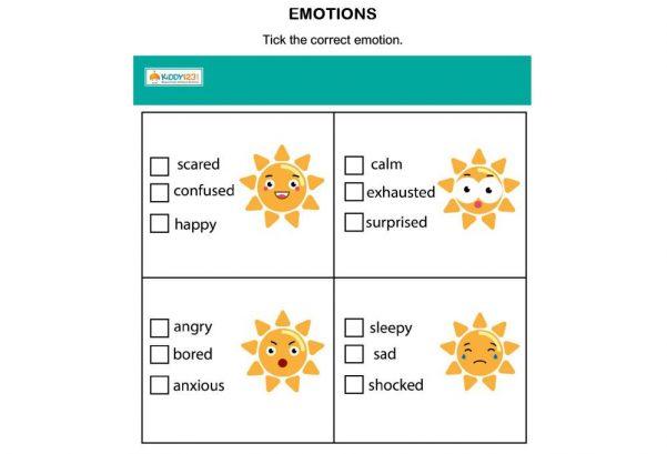 LANGUAGE - Emotions