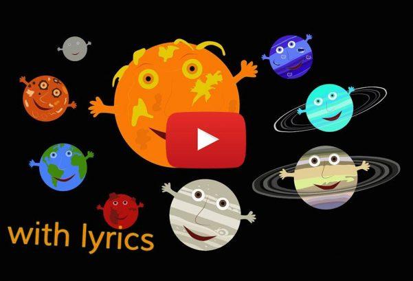KidsTV123: The Solar System Song (with lyrics)