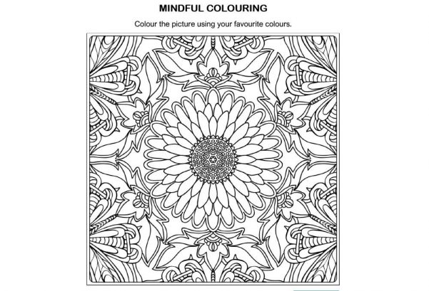 ART - Mindful colouring