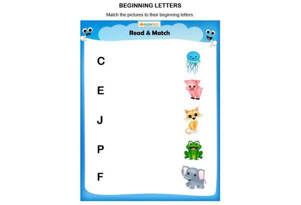 LANGUAGE - Beginning Letters
