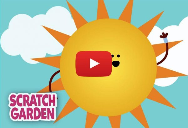 Scratch Garden The Sun Song | Science Songs