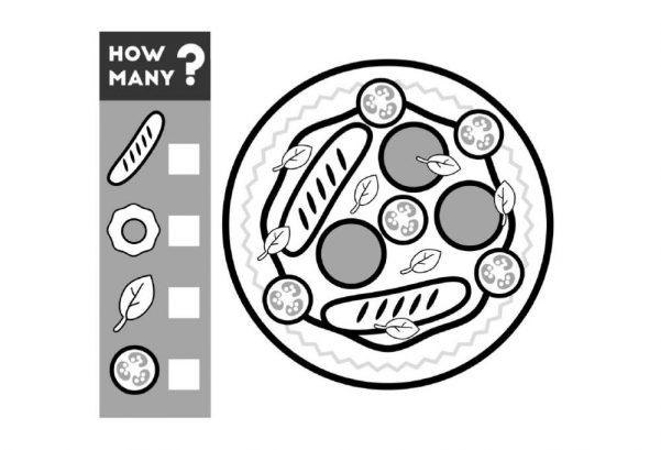 NUMBERS - Pizza Toppings