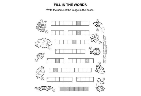 LANGUAGE - Fill In The Words