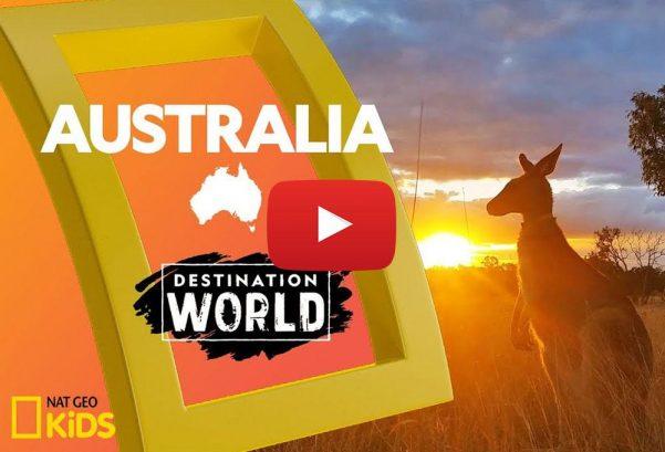 National Geographic Kids: Australia   Destination World