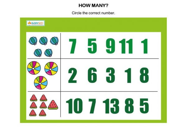 NUMBERS - How many?