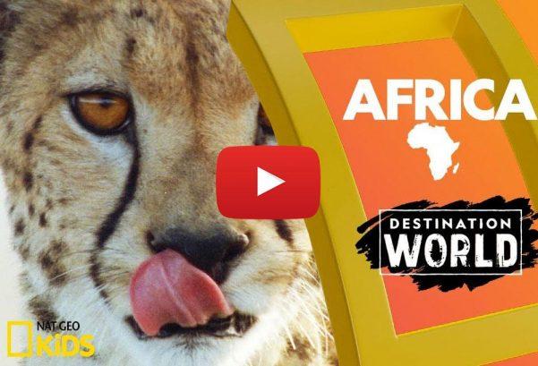 National Geographic Kids: Africa   Destination World