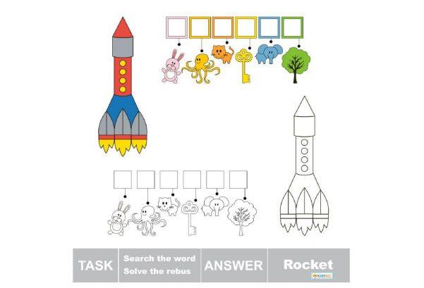 LANGUAGE - Solve The Word Rocket
