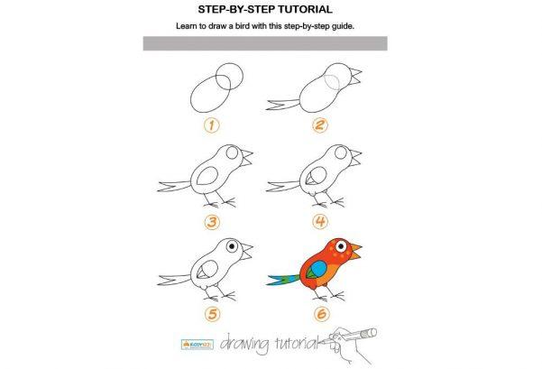ART - Step by Step Bird