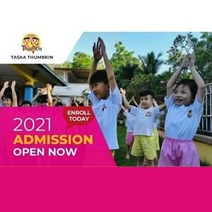 Open for Admission 2021 @ Taska Thumbkin, Bandar Puteri Puchong