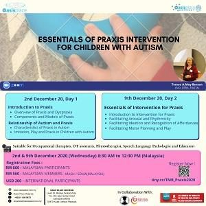 Essentials of Praxis Intervention for Children with Autism by Teresa A.May-Benson.