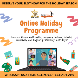 BrainCarve Online Holiday Programme 2020