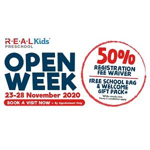 Open Week @ R.E.A.L Kids Preschool