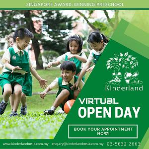 Virtual Open Day @ Kinderland Malaysia