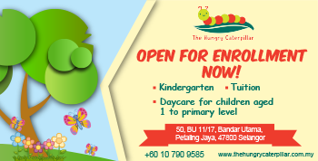 The Hungry Caterpillar, Bandar Utama