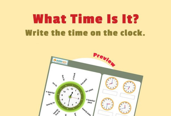 NUMBERS - What Time Is It?