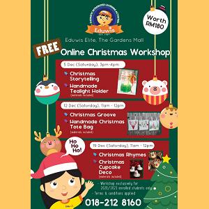 Online Christmas Workshop by Eduwis Elite (The Gardens Mall, Bangsar)