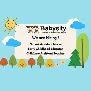 Early Childhood Educator @ Babysity Childcare & Development Centre, (28 Boulevard) Pandan Perdana