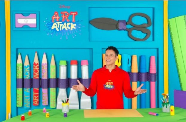 Exclusive Q&A with Disney's Art Attack New Host - Marco M. Borromeo