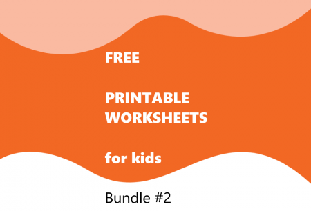 Printable Worksheets Bundle #2
