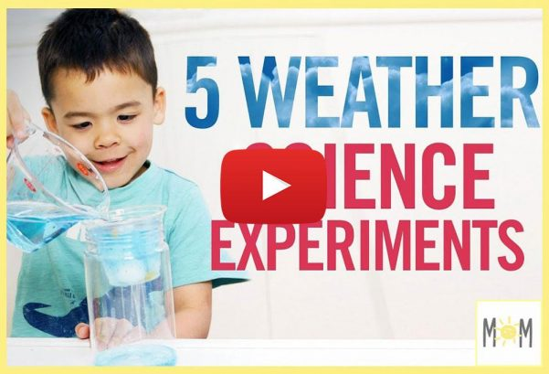 WhatsUpMoms: PLAY| 5 Weather Science Experiments!!
