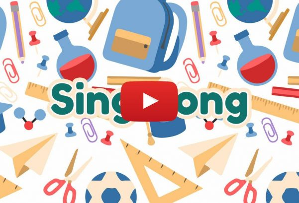 English Singsing: Kids Vocabulary – School Supplies – Learn English for Kids