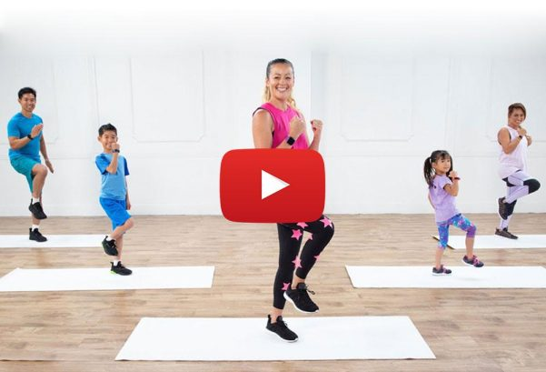 POPSUGAR Fitness: Have a Blast with This Family Fun Cardio Workout!