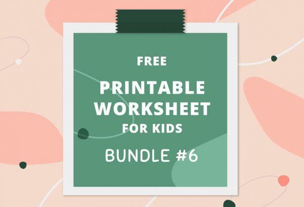 Printable Worksheets Bundle #6