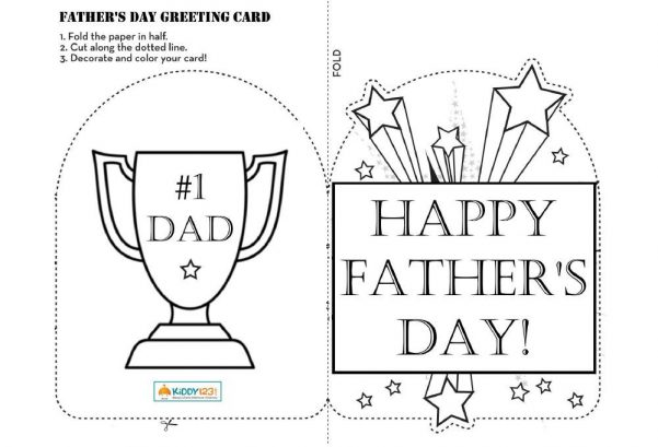 Art - Father's Day Greeting Card