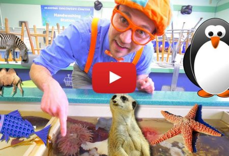 Blippi Toys Blippi at the Zoo Learn Animals for Children and Toddlers