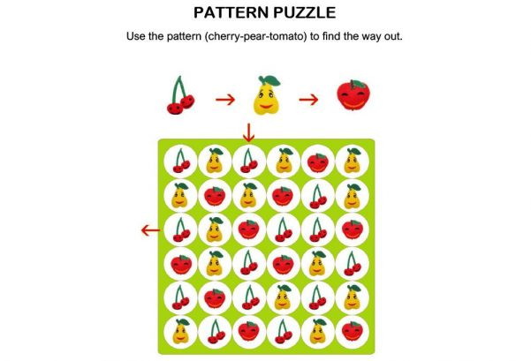 LOGIC & PUZZLES - Pattern puzzle