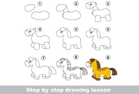 Art- Learn to draw pony