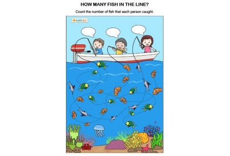 Numbers - How many fish