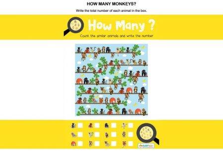 Numbers - How many monkeys