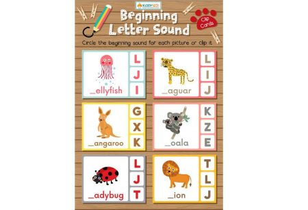 Language - Beginning letter sound